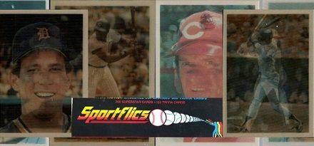 1986 Sportflics Baseball Cards Checklist