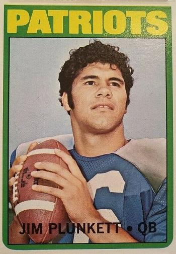 1972 Topps Jim Plunkett