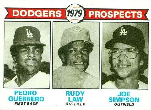 1979 Topps Rudy  Law