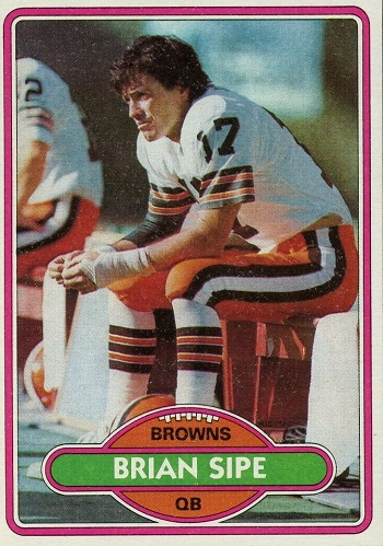1980 Topps Brian Sipe