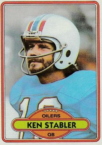 1980 Topps Ken Stabler