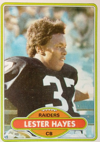 1980 Topps Lester Hayes Rookie Card