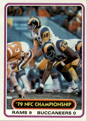 1980 Topps Vince Ferragamo and Kent Hill