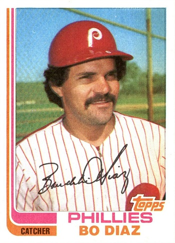 1982 Topps Traded Bo  Diaz