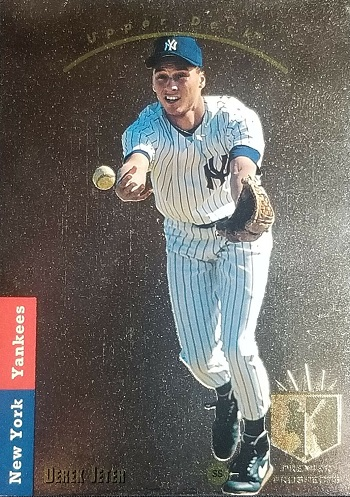 1993 Upper Deck SP Foil Derek Jeter