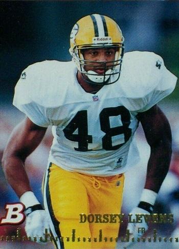 1994 Bowman Dorsey Levens Rookie Card