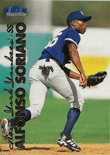 1998 Fleer Tradition Update Alfonso Soriano