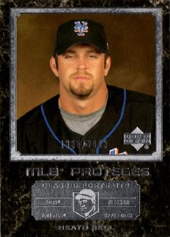 2003 Upper Deck Classic Portraits Heath Bell