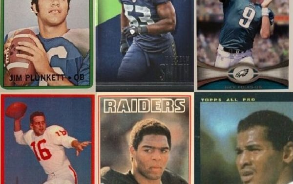 Rookie Cards of 7 Super Bowl MVPs for the 49ers and Chiefs
