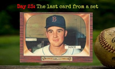 1955 Bowman George Susce – 2020 Spring Training Challenge Day 23