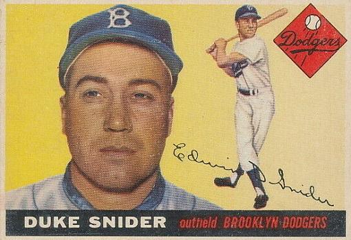 1955 Topps Duke Snider