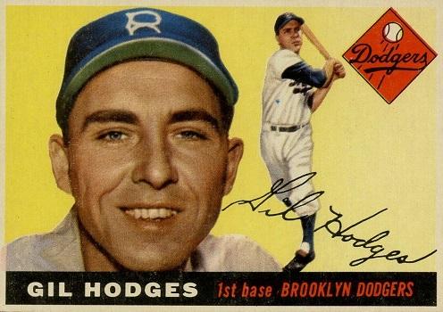1955 Topps Gil Hodges