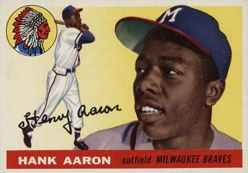 1955 Topps Hank Aaron