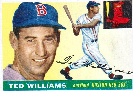 1955 Topps Ted Williams