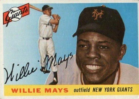 1955 Topps Willie Mays