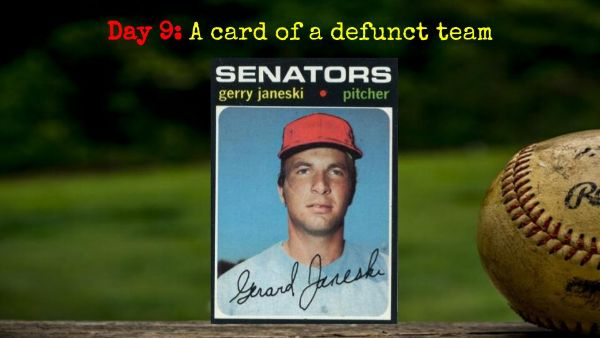 1971 Topps Gerry Janeski – 2020 Spring Training Challenge Day 9