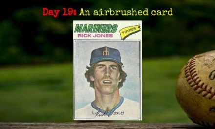 1977 Topps Rick Jones – 2020 Spring Training Challenge Day 19