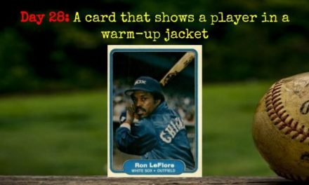 1982 Fleer Ron LeFlore – 2020 Spring Training Challenge Day 28