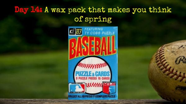 1983 Donruss Wax Pack – 2020 Spring Training Challenge Day 14