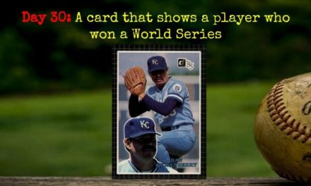1985 Donruss Action All-Stars Dan Quisenberry – 2020 Spring Training Challenge Day 30