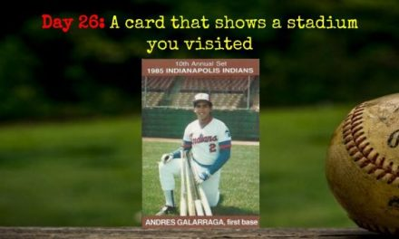 1985 Indianapolis Indians Andres Galarraga – 2020 Spring Training Challenge Day 26