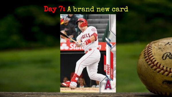 2020 Topps Mike Trout – 2020 Spring Training Challenge Day 7