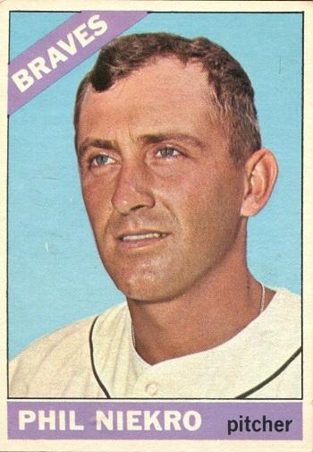 1966 Topps Phil Niekro