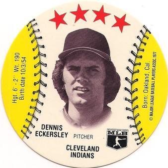 1976 Wiffle Ball Discs Dennis Eckersley
