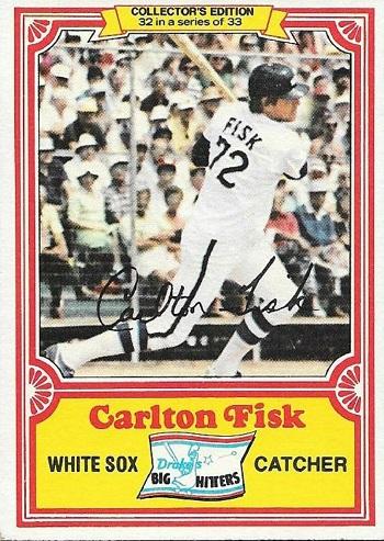 1981 Drakes Carlton Fisk