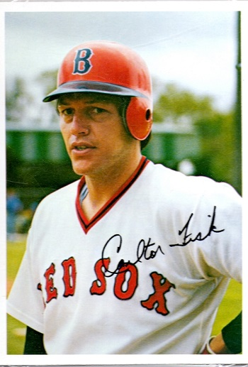 1981 Topps Super Home Team Carlton Fisk