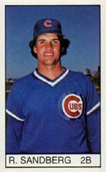 1983 All-Star Game Program Inserts Ryne Sandberg