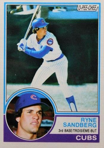 1983 O-Pee-Chee Ryne Sandberg