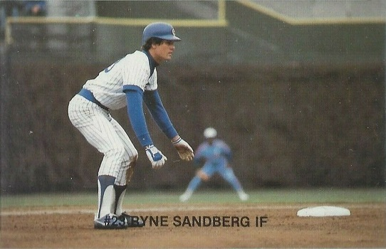 1983 Thorn Apple Valley Cubs Ryne Sandberg