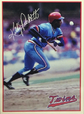 1984 7-11 Twins Kirby Puckett