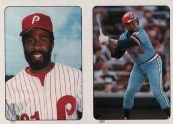 1985 Topps Garry Maddox, Kirby Puckett