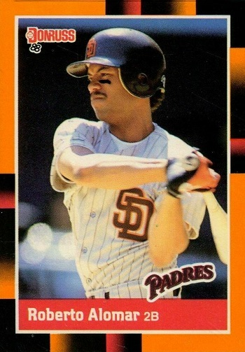 1988 Donruss Baseball's Best Roberto Alomar