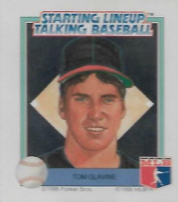 1988 Starting Lineup Talking Baseball Tom Glavine