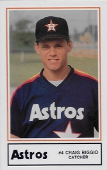 1989 Astros Lennox HSE Craig Biggio