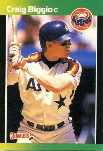 1989 Donruss Baseball's Best Craig Biggio
