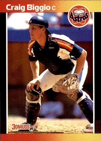 1989 Donruss Craig Biggio