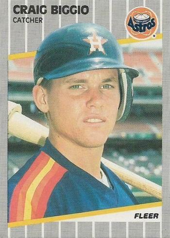 1989 Fleer Craig Biggio