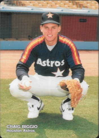 1989 Mother's Cookies Astros Craig Biggio