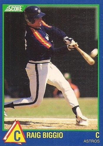 1989 Score Rising Stars Craig Biggio