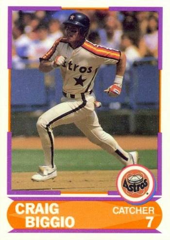 1989 Score Young Superstars Craig Biggio