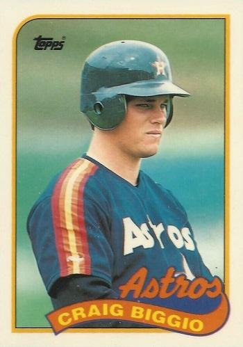 1989 Topps Craig Biggio