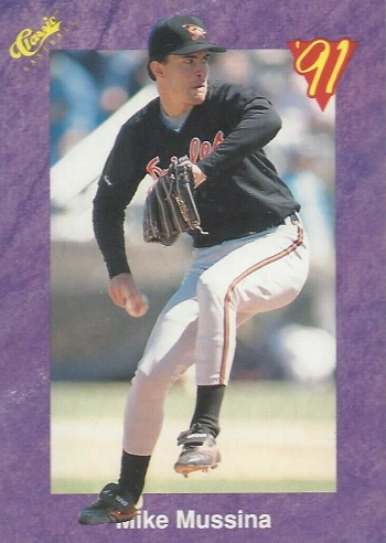 1991 Classic Collector's Edition Mike Mussina