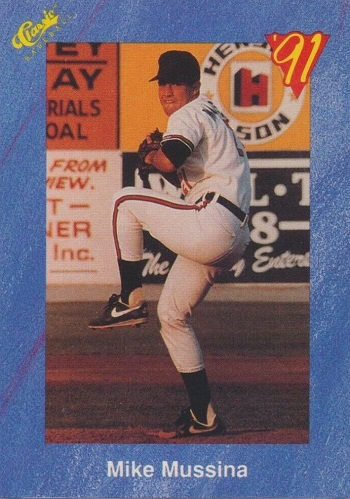 1991 Classic Mike Mussina