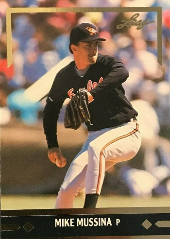 1991 Leaf Gold Rookies Mike Mussina