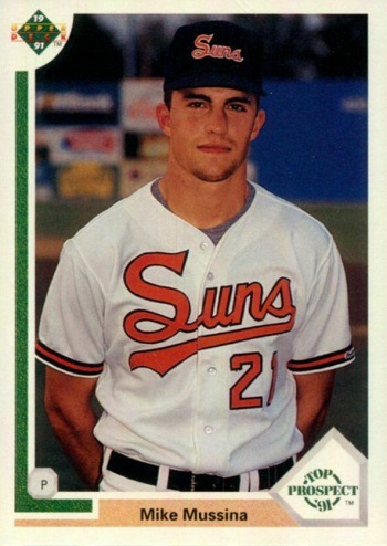 1991 Upper Deck Mike Mussina