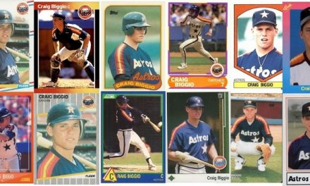 The Many, Many Faces of Craig Biggio Rookie Cards